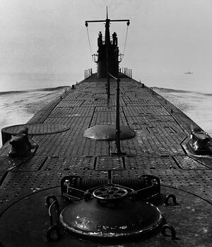 US Submarine During World War II
