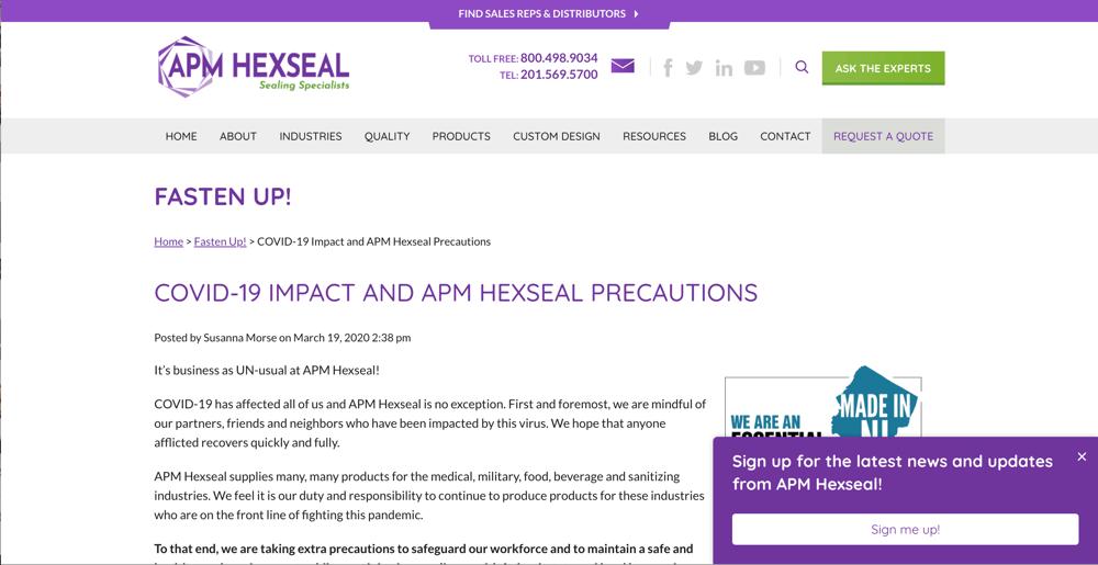 APM HexSeal