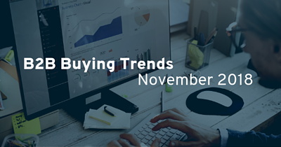 B2B Buying Trends November 2018