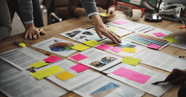 Brainstorm meeting understanding B2B buyers