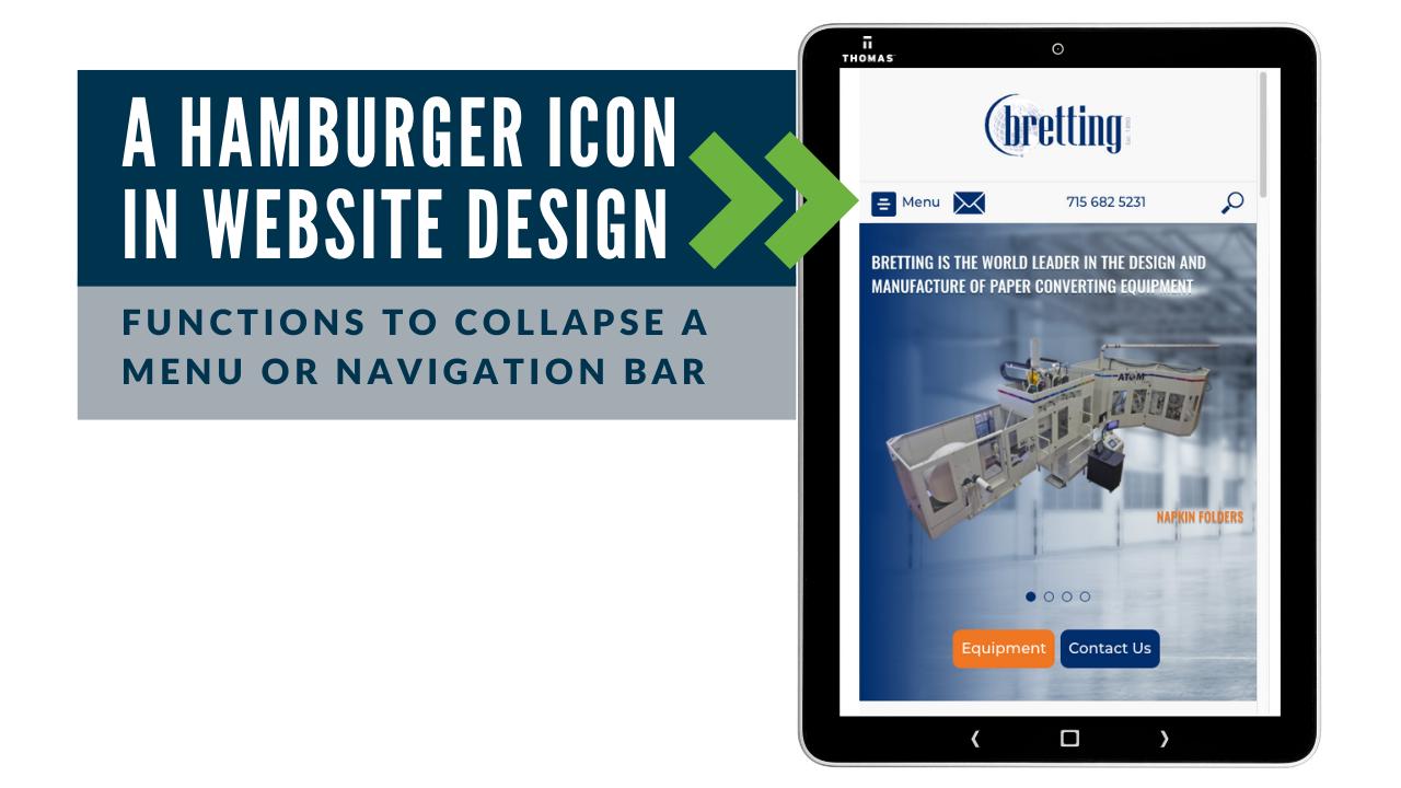 Bretting mobile responsive website design example
