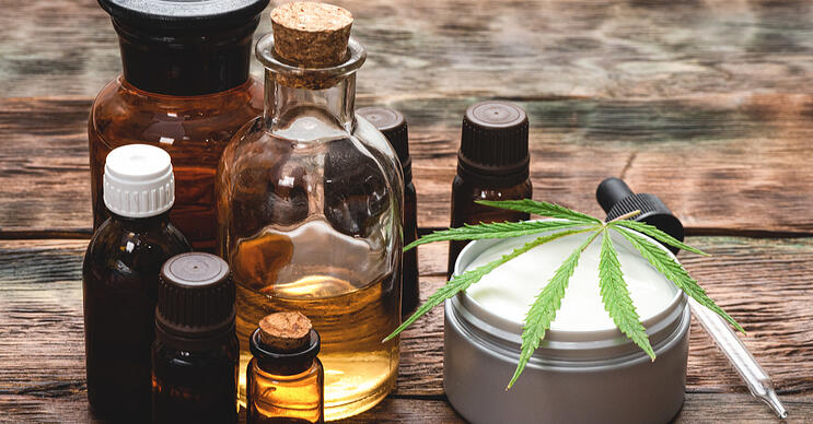 CBD industry beauty products
