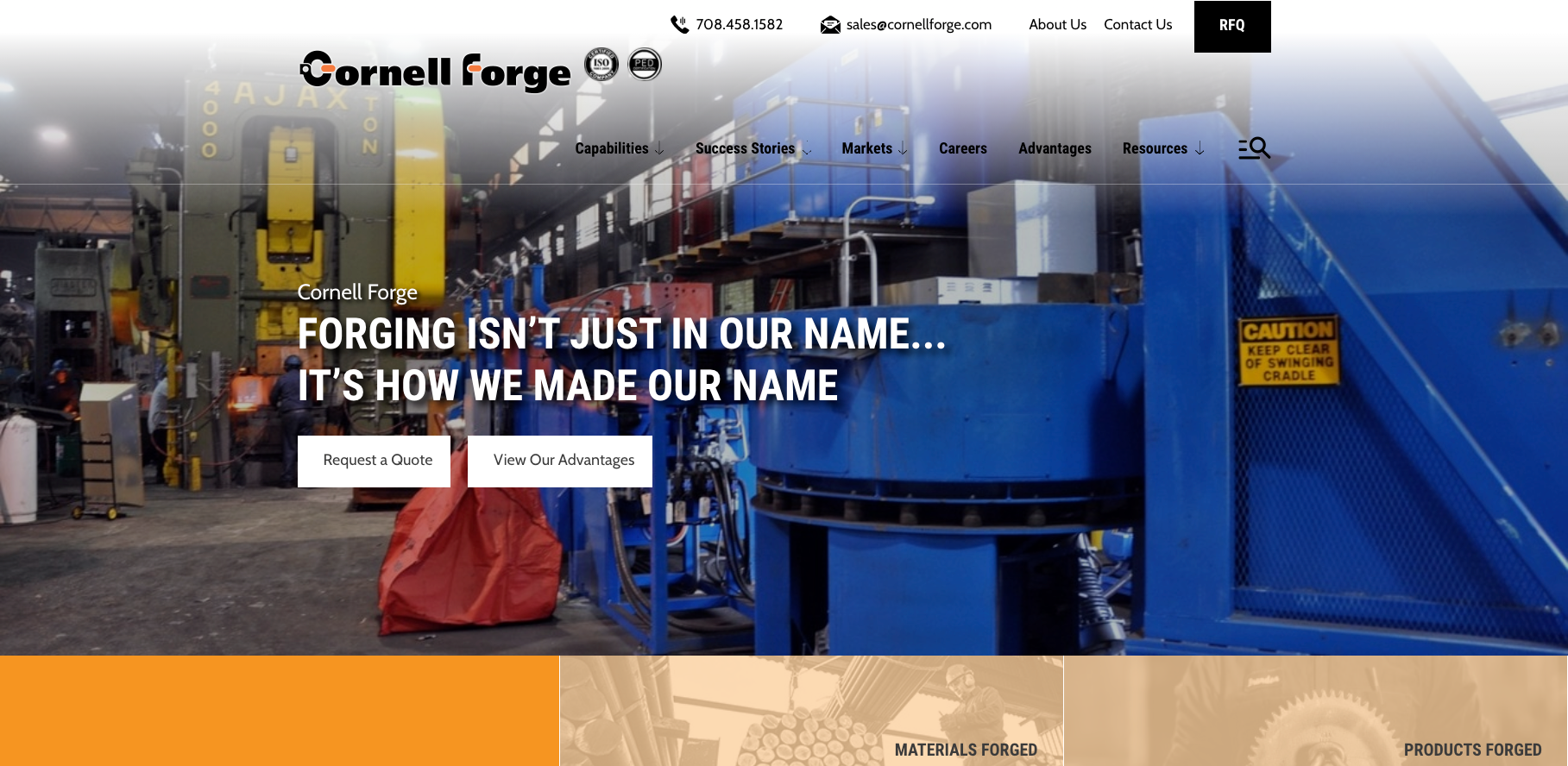 Cornell Forge Website