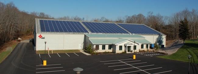 ESI Solar Panels - Lead generation example