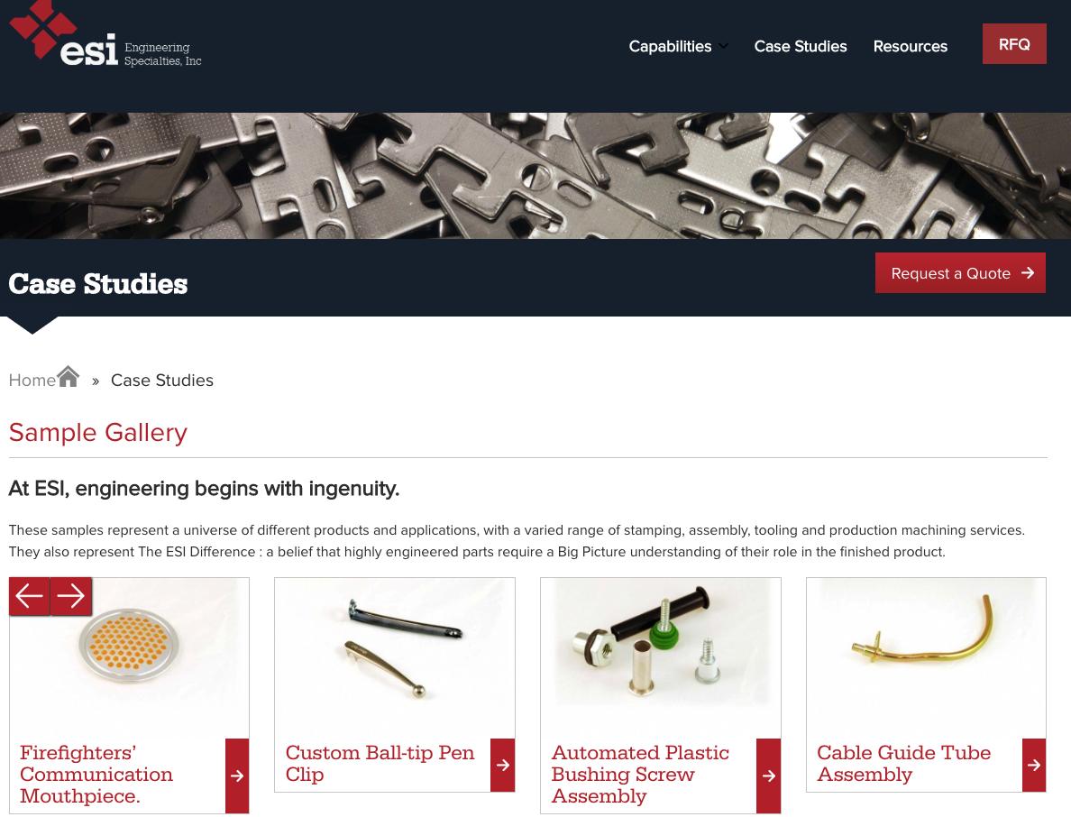 Engineering Specialties Inc Case Studies