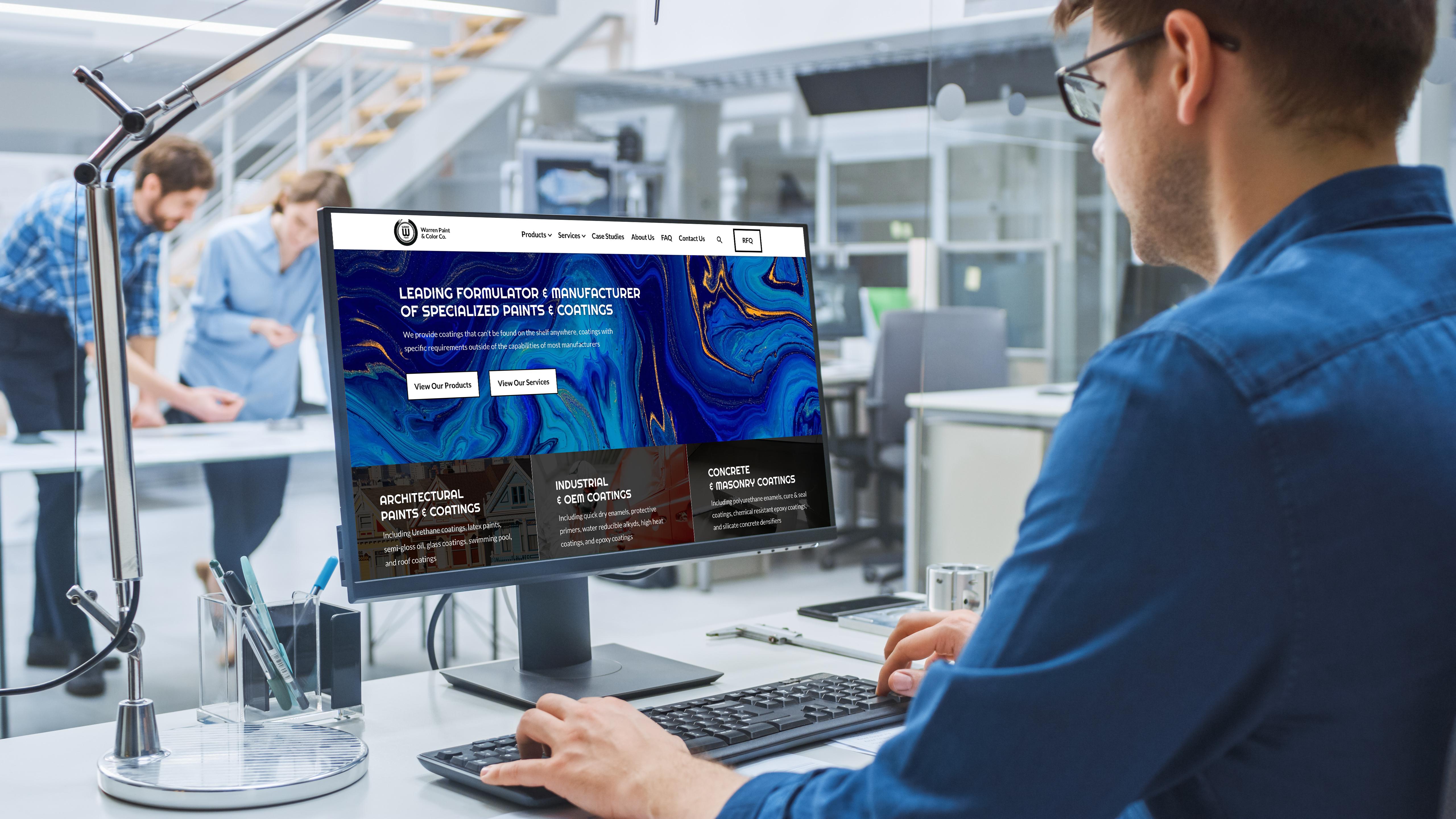 Factory Website Examples