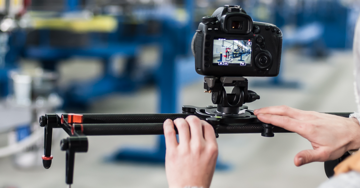 Factory video production for manufacturers