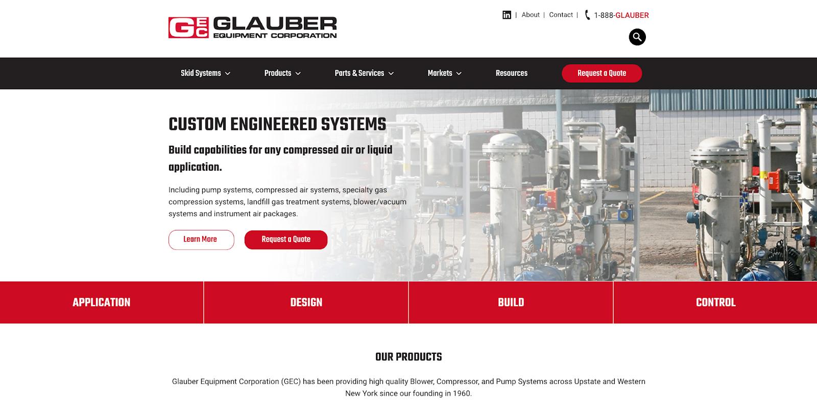 Glauber Homepage