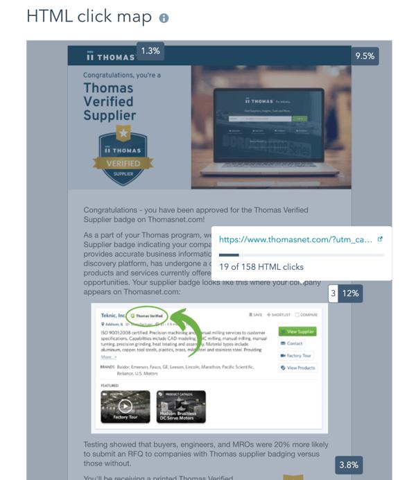 HTML click map