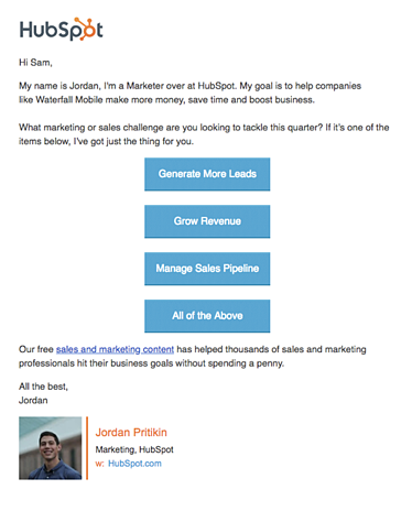 Hubspot Email AB Test