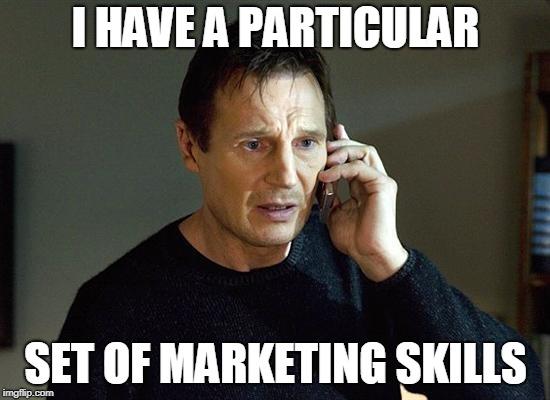 Marketing Skills Meme