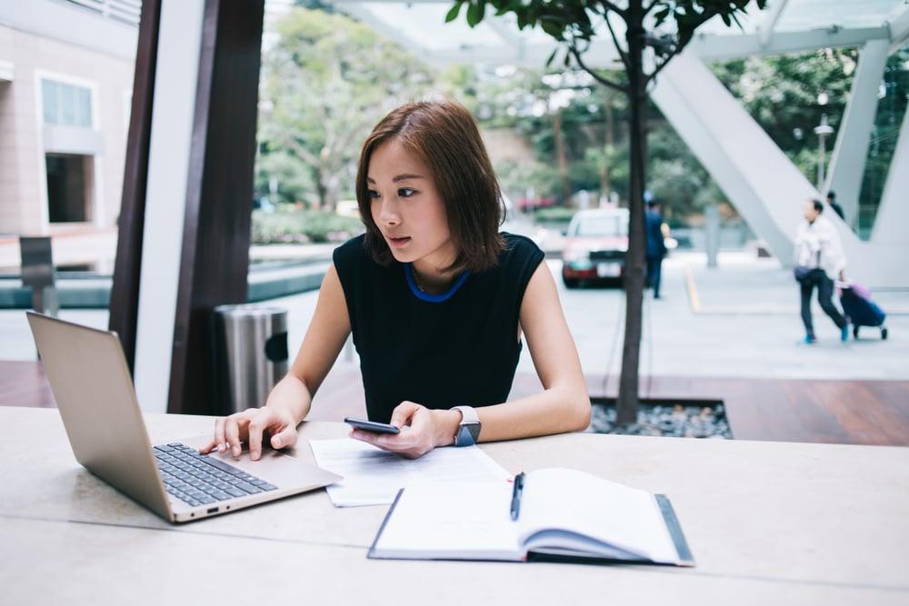Reading customer case study online