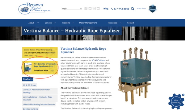 Renown Electric eBook Example