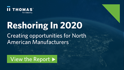 North American manufacturers reshoring