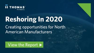 North American manufacturers reshoring