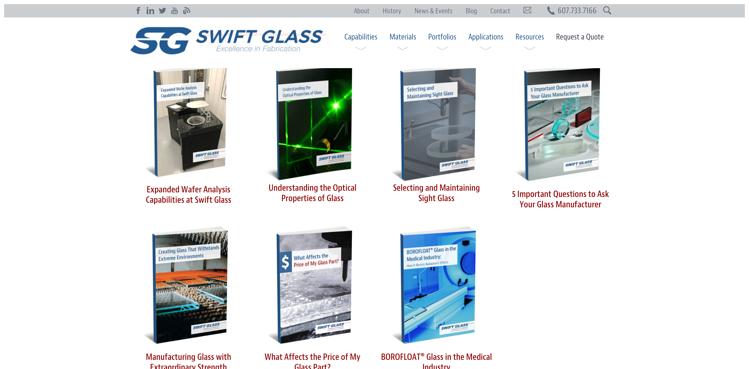 Resource-Library-Swift-Glass - Meeting the needs of industrial buyers with content marketing