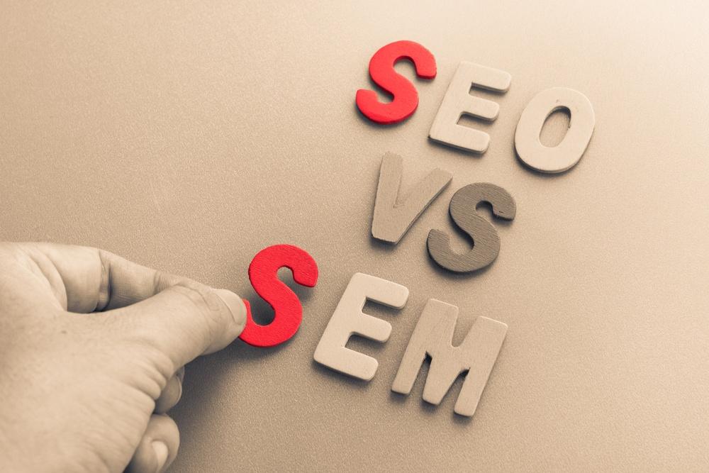 SEO versus SEM