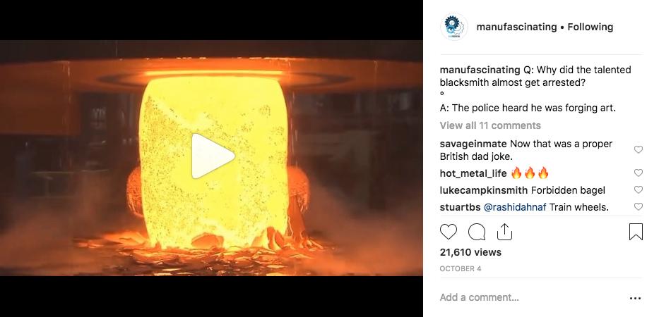 Manufascinating Instagram