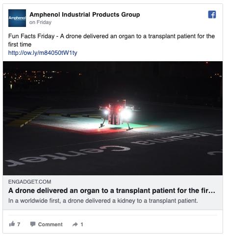 Amphenol Facebook