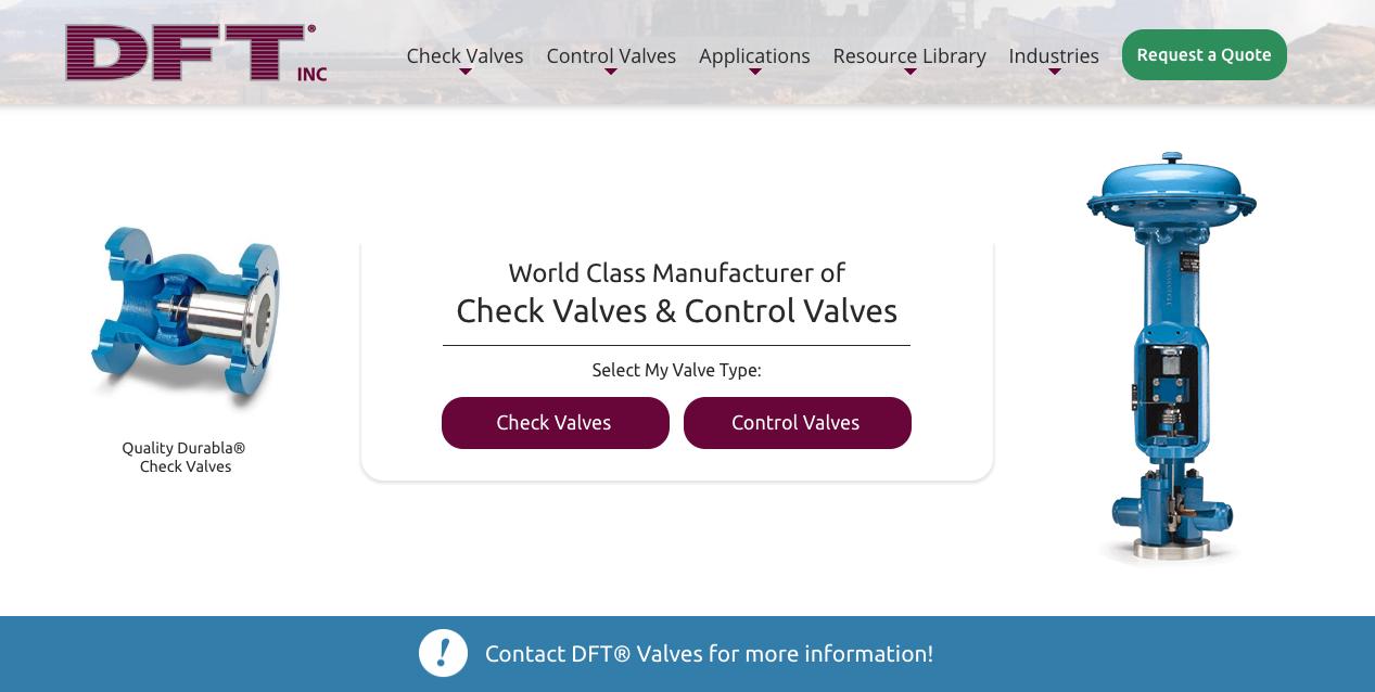 DFT Valves
