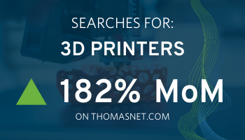 Sourcing activity 3D printers - manufacturing opportunity