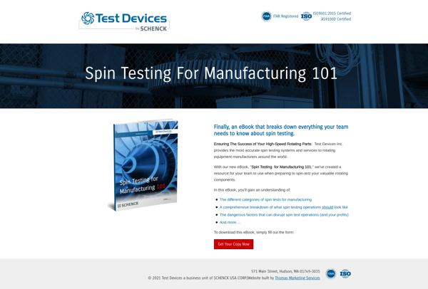 Test Devices Manufacturer - Content Marketing Example for MQL vs SQL