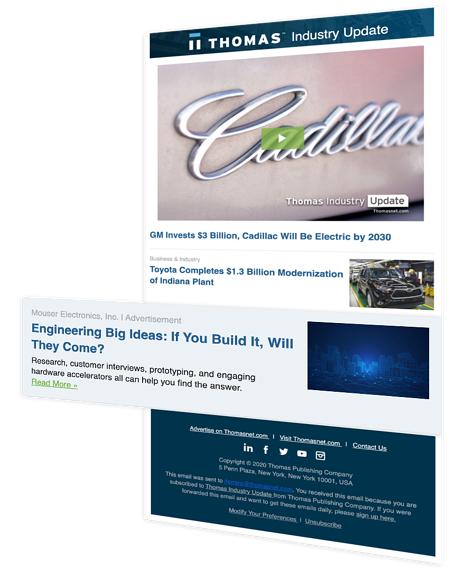 TIU Advertising for manufacturers - planning product launch with digital marketing example