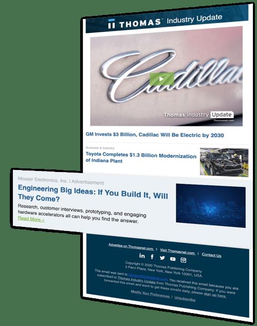 TIU Ad - content marketing idea for manufacturer