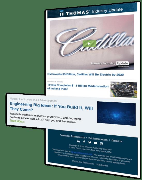 TIU Advertising for manufacturers - industrial marketing plan