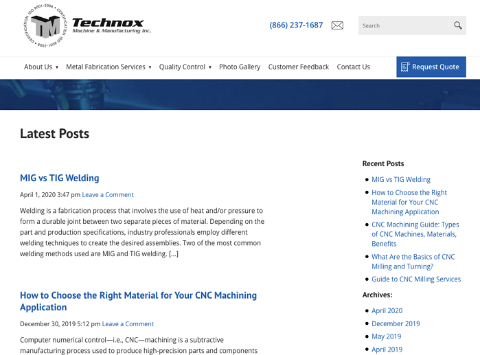 Technox CNC - how to find customers for CNC machining example