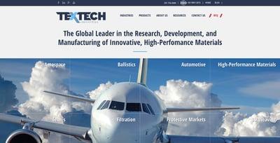 Industrial Design Website Example