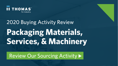 Buying activity for packaging materials
