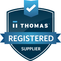 Thomas Registered Supplier Badge