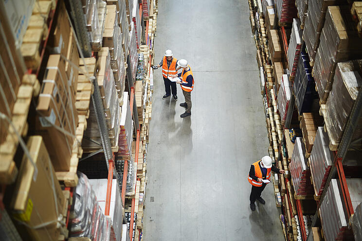 Warehouse supply chain