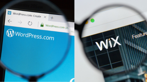 WordPress vs  Wix: What's the Best Website Platform for