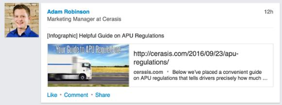 Cerasis LinkedIn example.png