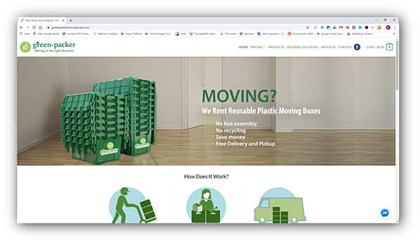 Green-Packer Moving Boxes