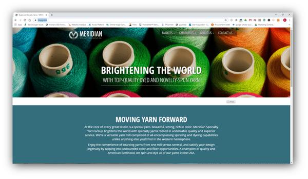 Meridian Specialty Yarn Group, Inc.