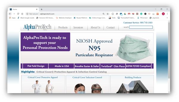 Alpha Pro Tech Ltd.