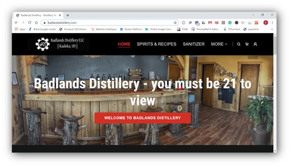 Badlands Distillery