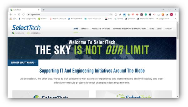SelectTech GeoSpatial