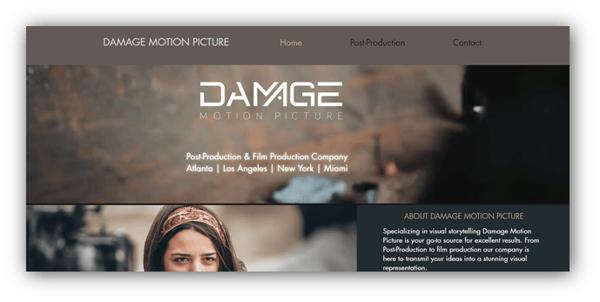Damage Motion Picture
