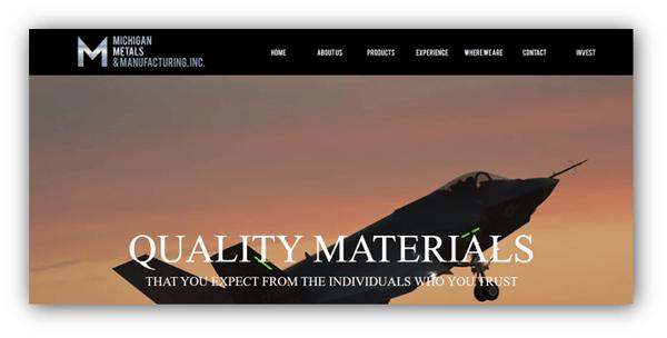 Michigan Metals & Manufacturing, Inc.