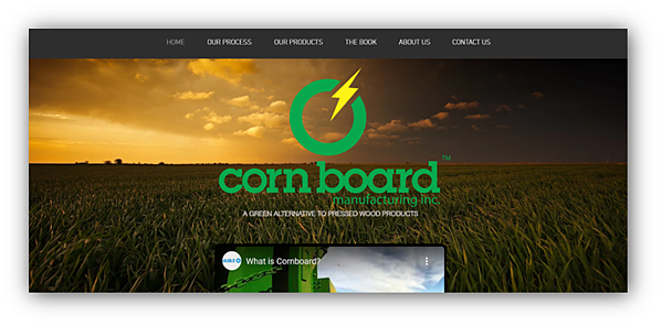 Corn Board Manufacturing