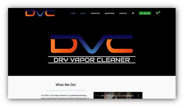 Dry Vapor Cleaner