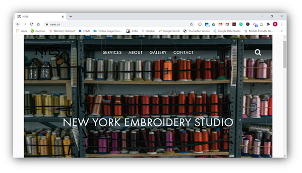 New York Embroidery Studio