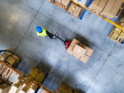 Industrial distributor warehouse - industrial distributor website example