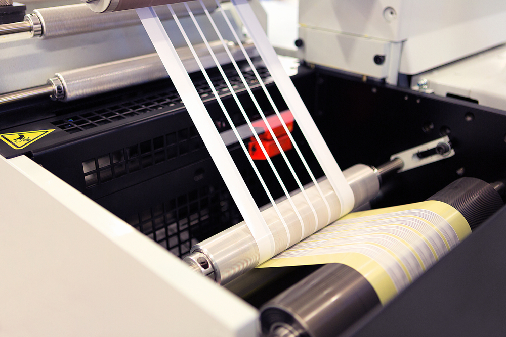 label cutting manufacturing