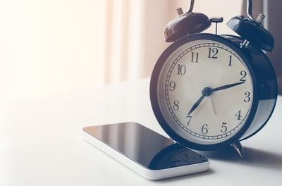 phone-clock