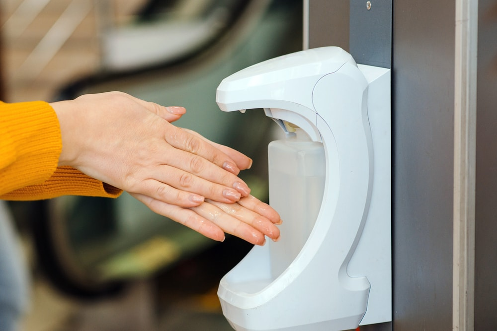 Contactless Sanitizing Stations